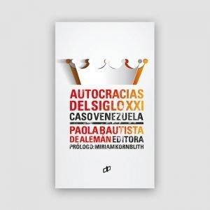 Portada de Autocracias del siglo XXI caso Venezuela