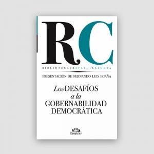 Portada de Los desafíos a la gobernabilidad democrática